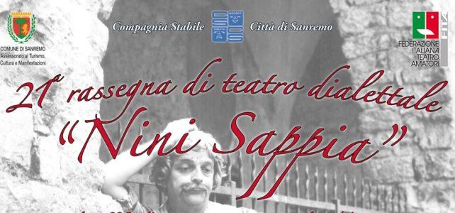 """21° rassegna di teatro dialettale """"Nini Sappia"""""""