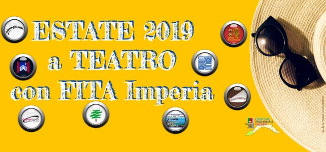 ESTATE 2019 a teatro con Fita Imperia: tutti gli appuntamenti con le nostre compagnie